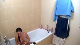 Mirukawa wash her pussy after bate, 6 Sept