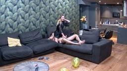Nelly and Bogdan sex in livingroom, Feb 16