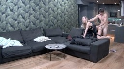 Nelly and Bogdan hot fuck start in kitchen end in bedroom, Feb 21