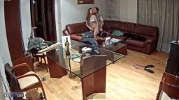 Martina and Alberto super hot sex in living room,Mar 1