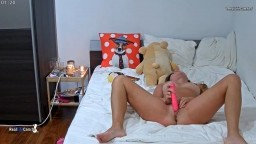 Ginger romantic moment and masturbate with candle scent, Sep 11