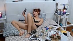 Aleksandra record his pussy, Feb 10